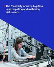 Tapa del libro The feasibility of using big data in anticipating and matching skills needs